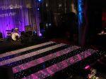 Black and White Striped LED Dance Floor  (per 2ft x 2ft panel)