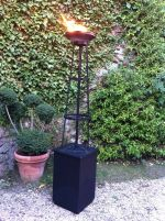 8ft Gas Flambeaux inc. Gas Bottle (non discountable)