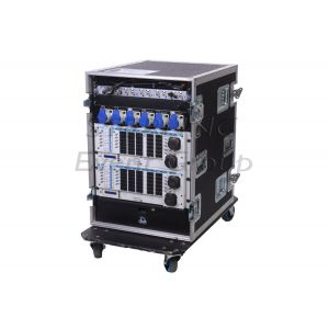 SEG 63A 3Ø Event Rack (12x16A patchable dim/hot power- 4 SOCA out)