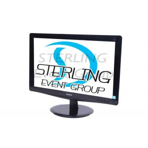 "18.5"" LCD Monitor HD 16:9 (VGA and DVI)"