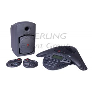 Polycom VTX1000 inc. 2 x External Microphone and Speaker (up to 25 people)