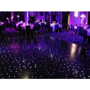 Black LED Dance Floor  (per 2ft x 2ft panel)