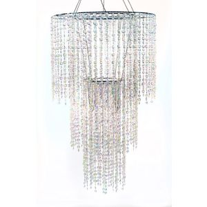 Crystal Droplet Chandelier 1m Drop