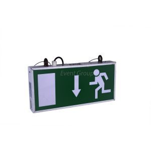 Emergency Exit Sign Maintained 16a In/Out