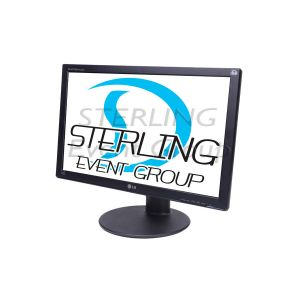 "24"" LCD Monitor HD 16:9 (VGA, DVI, HDMI)"