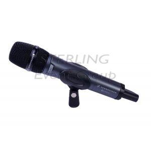 Handheld radio microphone system
