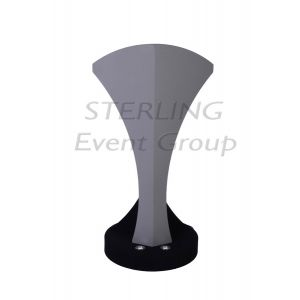 Teardrop Lectern inc. Built in Uplighters